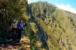 Heading to the Inca Bridge