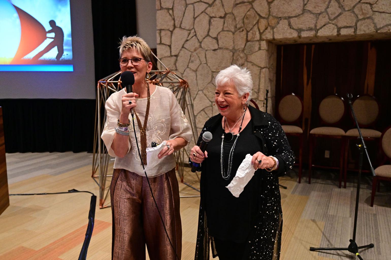 Joeaux Robey & Marilyn Harper