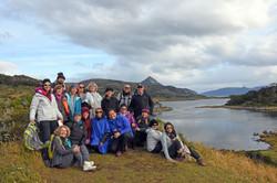 Kryon group at Wulaia Bay