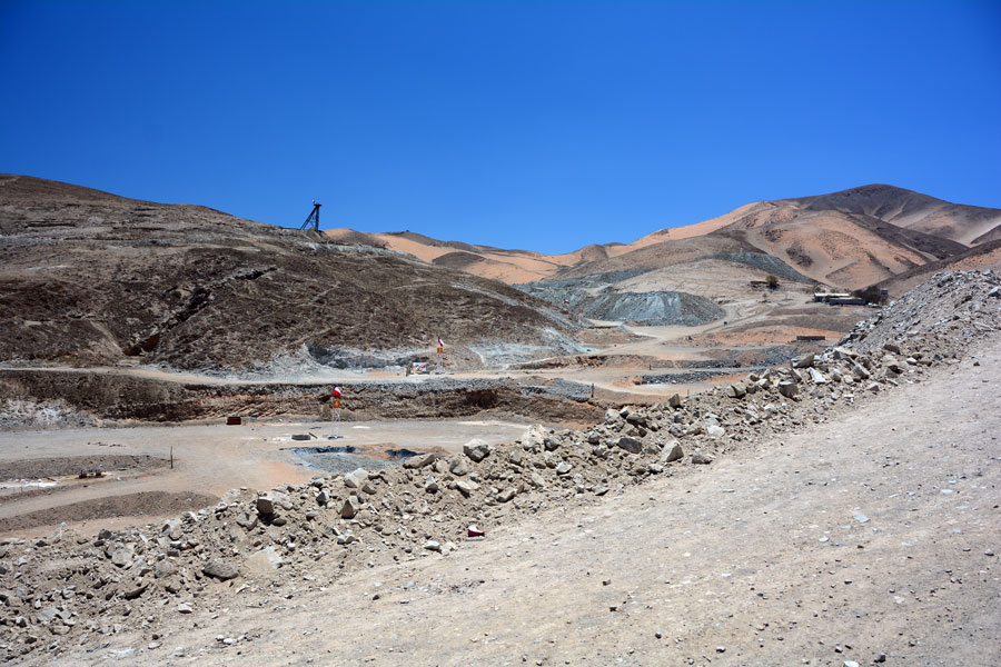 San Jose Mine, Chile