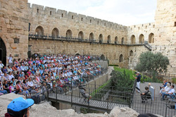 Garden at the Tower of David
