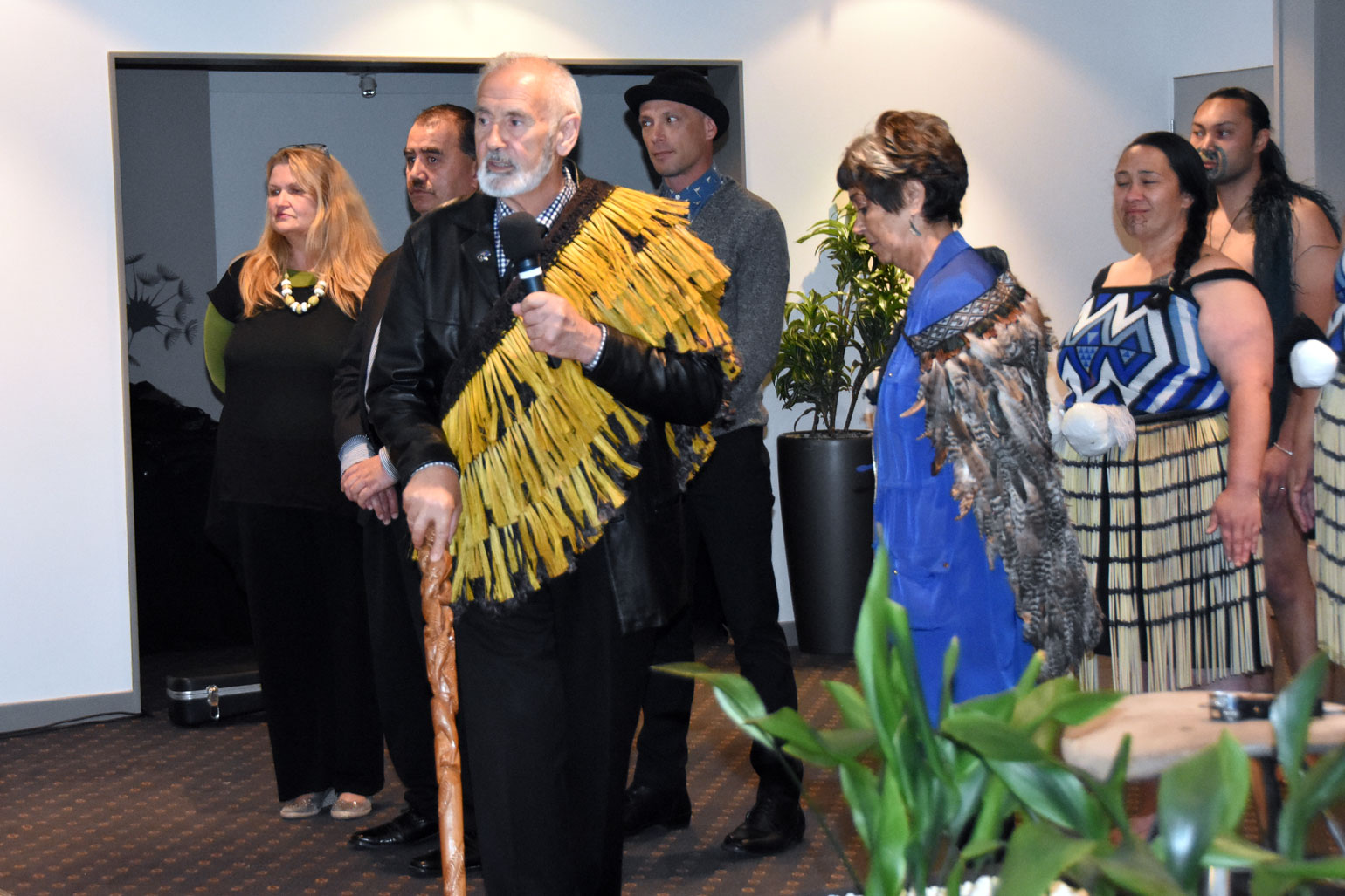 Official welcome by Ngāi Tahu