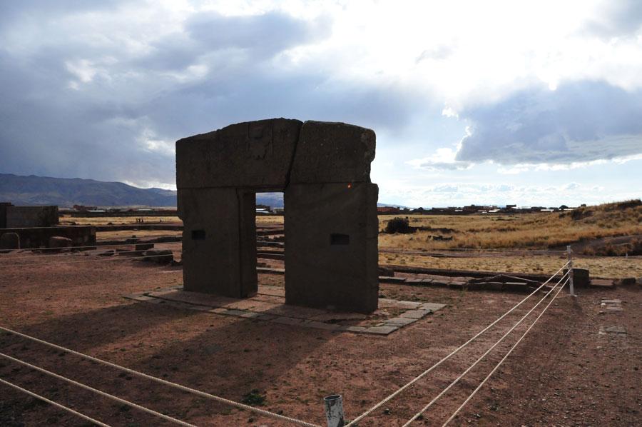 Gate of the Sun Tiahuanaco, Bolivia