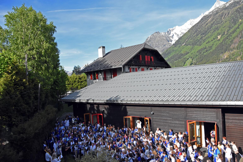 Toning to Mont Blanc