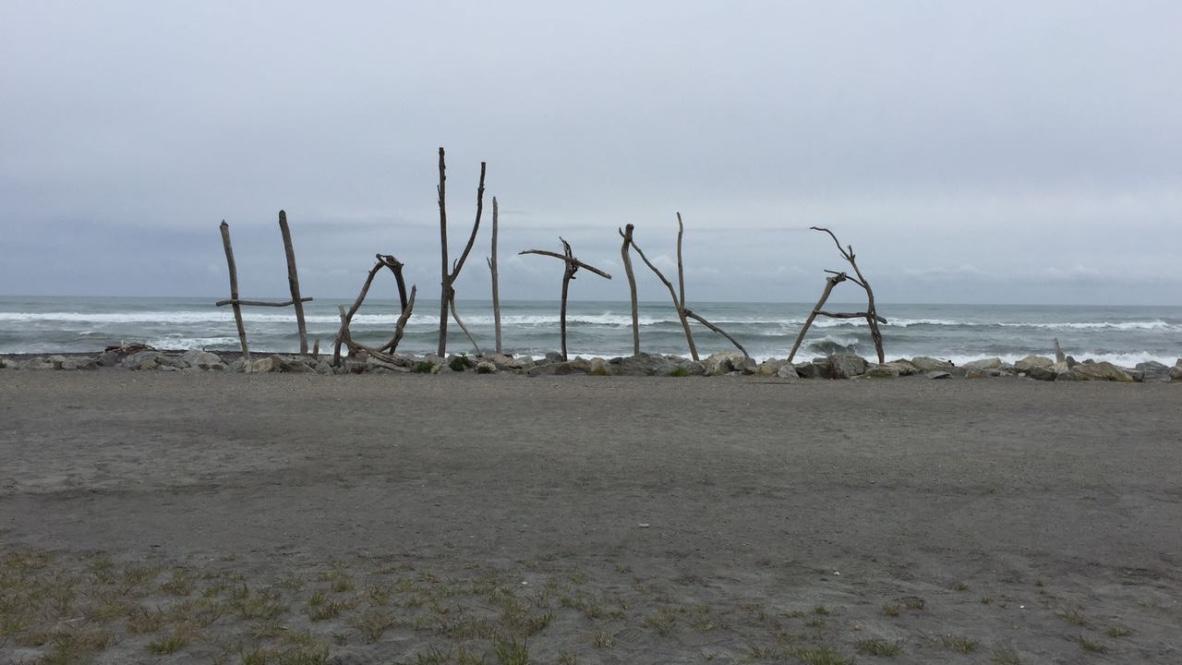 Beach at Hokitika