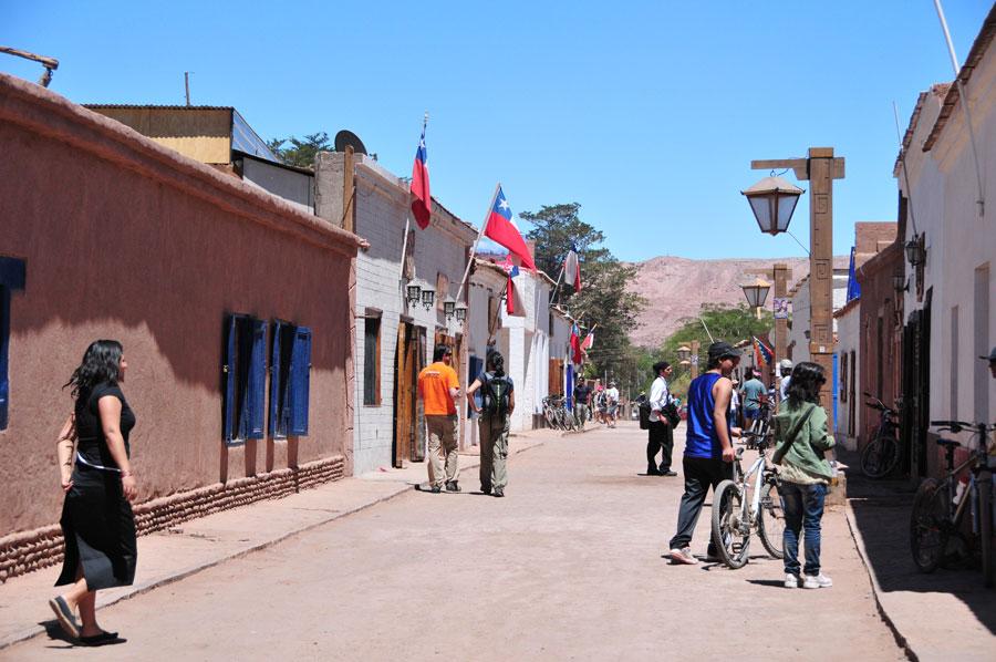 Downtown San Pedro de Atacama, Chile