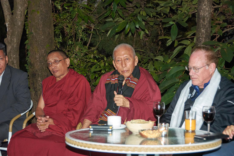 Venerable Samdhong Rinpoche