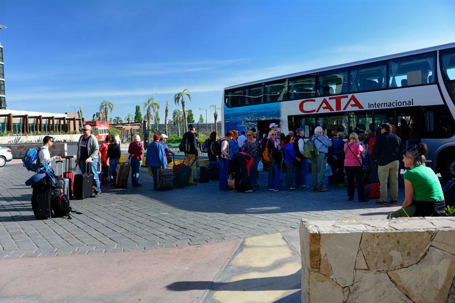 Departing Mendoza, Argentina