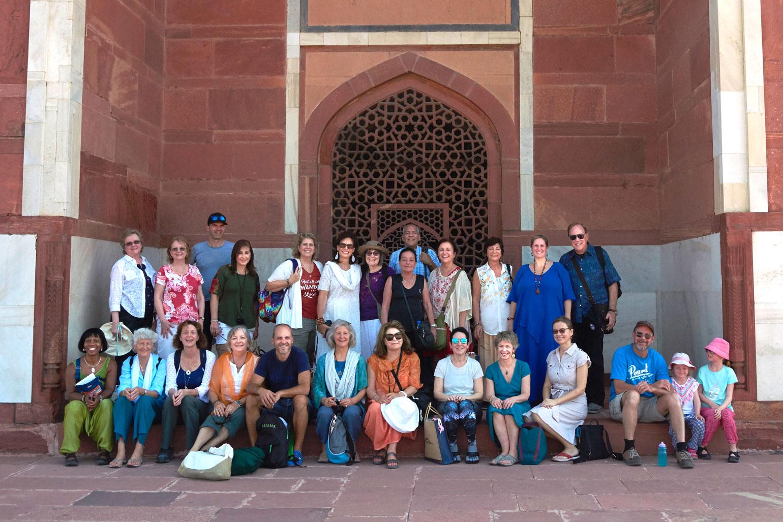 Kryon group at Humayun's Tomb