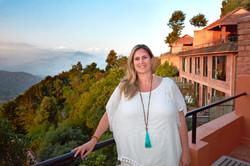 Monika Muranyi at Dwarikas Resort