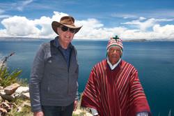 Lee Carroll & Bolivian Shaman