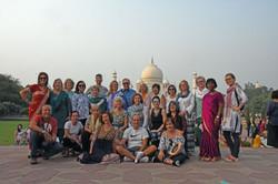 Kryon group at Taj Mahal, Agra
