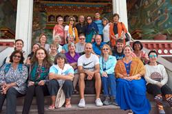Kryon group at Kopan Nunnery