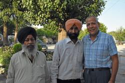 At the Sikh Temple, Delhi
