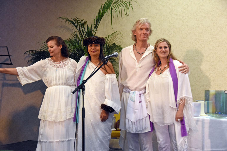 Teresa, Kalei, Marc & Monika