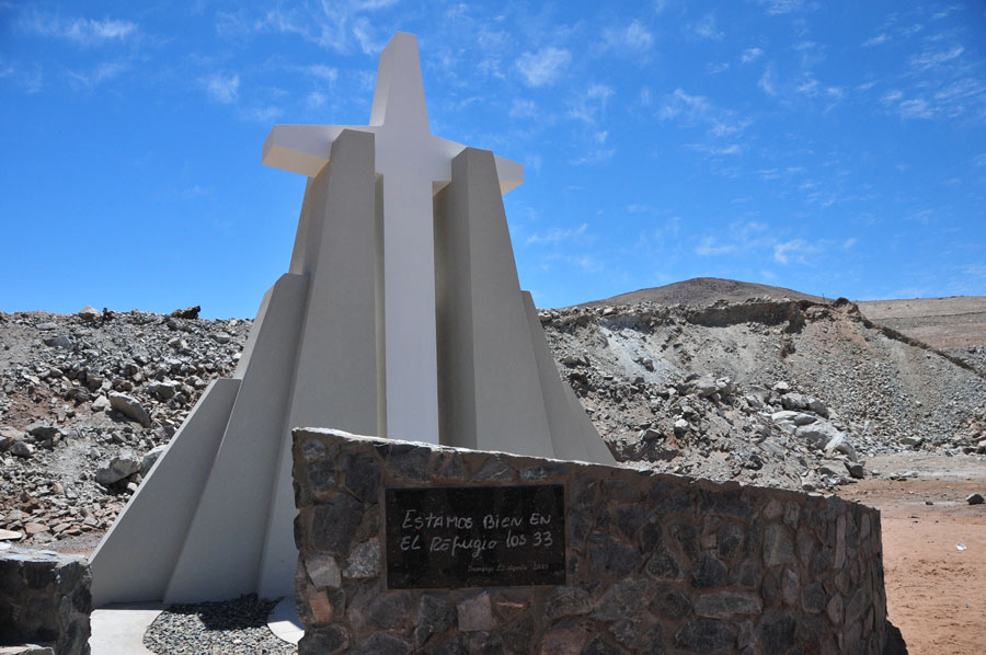 Memorial of 33 Miners, Chile