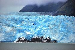 Amalia Glacier in the Chilean Fjords