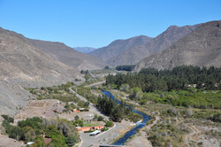 The view from Elqui Dam, Chile