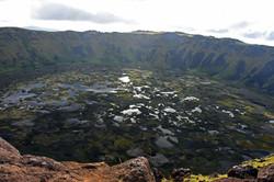Volcano Rano Kau