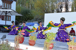 Local Ladakh dancers
