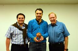 Jorge, Daniel Rico & Lee Carroll