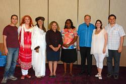 Kryon Team with Anangu women