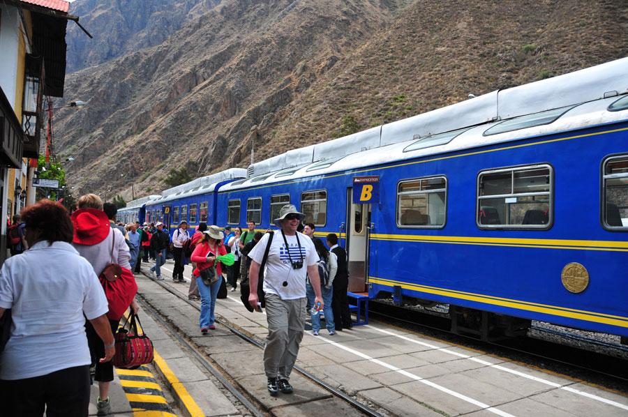 Train to Aguas Calientes, Peru