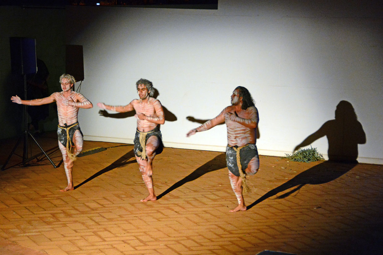 Indigenous dancers