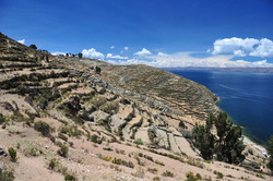 Island of the Sun, Lake Titicaca