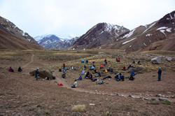 Kryon channel Mt Aconcagua