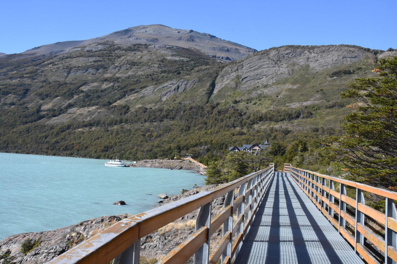 Boardwalk at Perito Moreno Glacier