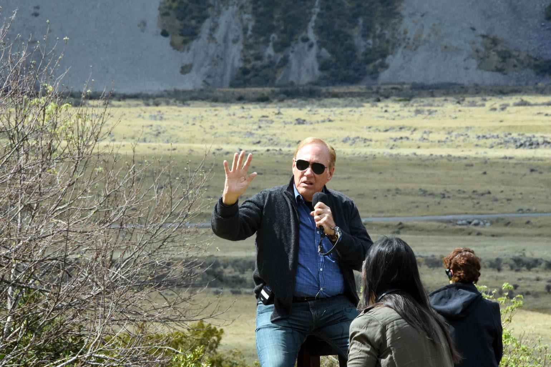 Lee Carroll at Aoraki