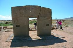 Gate of the Sun Tiahauanaco, Bolivia