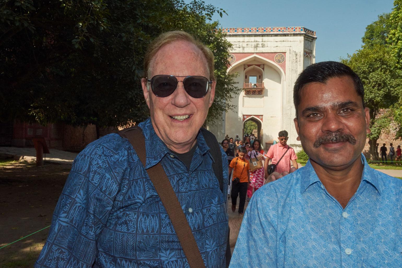 Lee Carroll & Satendra Singh Tamdiya