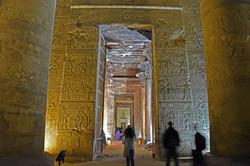 Inside Edfu Temple