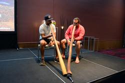 Didgeridoo players