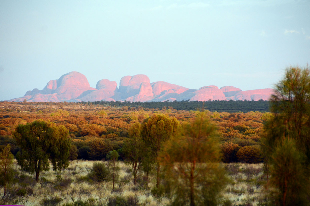 Sunrise at Kata Tjuta
