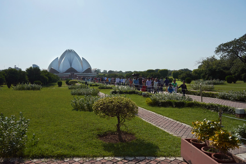 Bahai Lotus Temple, Delhi