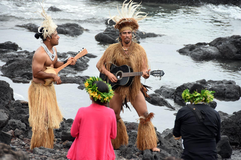 Rapa Nui singers