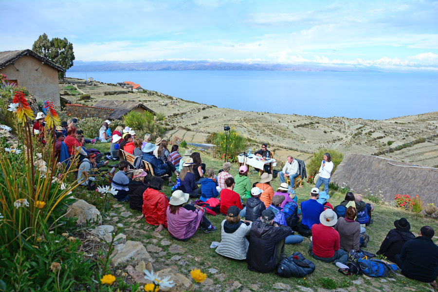 Island of the Sun, Lake Titicaca