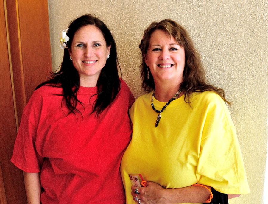 Monika Muranyi & Connie Okleberry