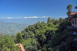 View from Dwarikas Resort Dhulikhel