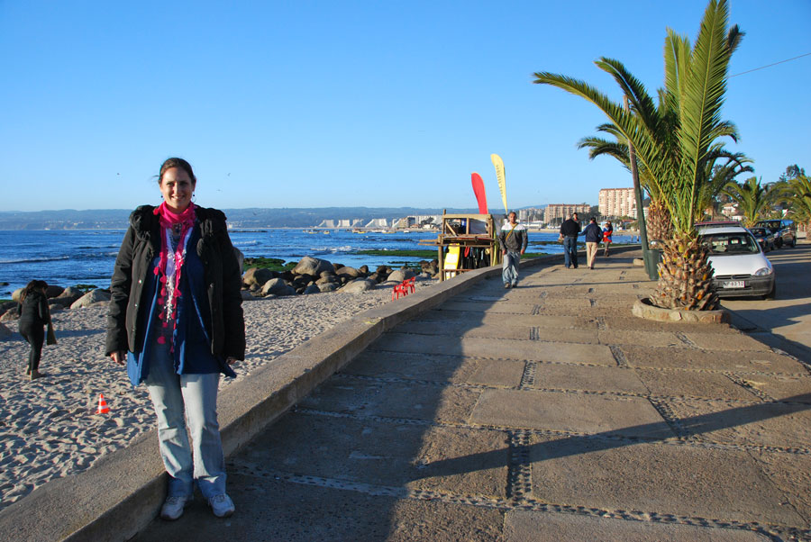 Monika Muranyi in Algarrobo, Chile