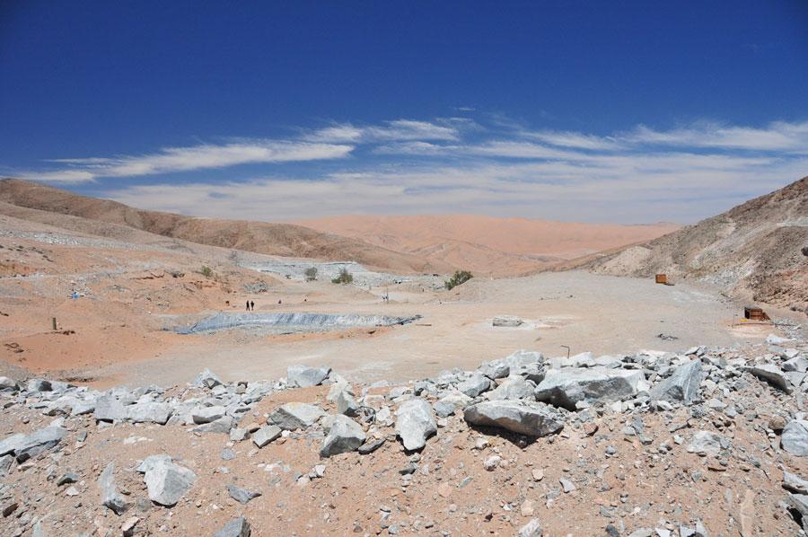 San Jose Mine, northern Chile
