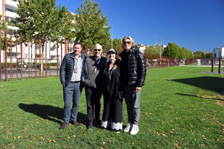 Bernhard, Lee, Monika & Nicolas