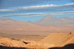 View towards Volcano Licancabur