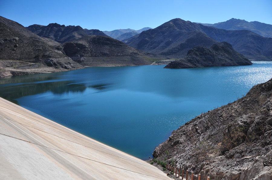Elqui Dam, Chile