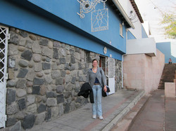 Monika. Pablo Neruda's Casa Santiago