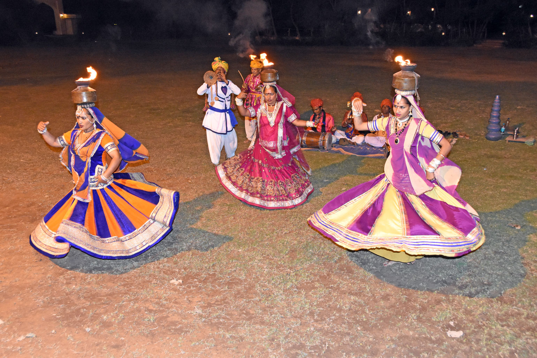 Local dancers