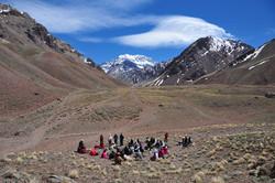 Kryon channel at Mt Aconcagua